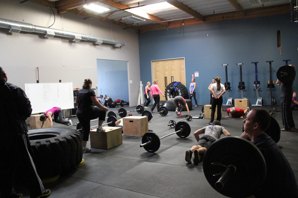 Tons of athletes and tons of room in the new space