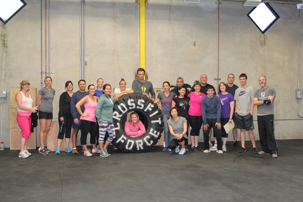 CrossFit Force New Year's Eve Crew