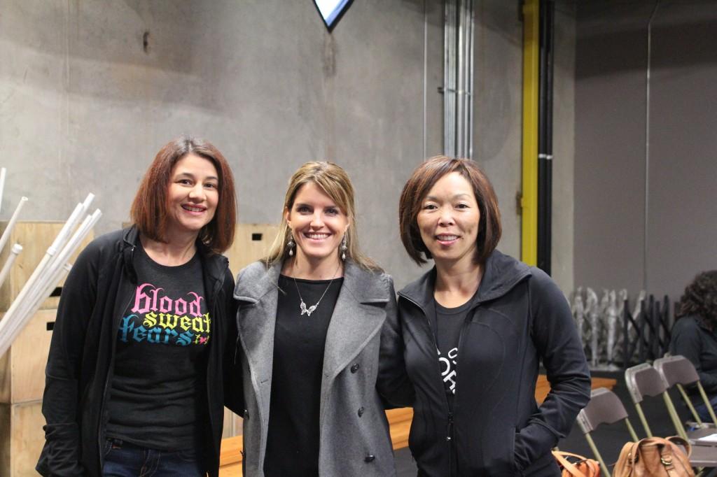 Sandra, Sarah and Carol